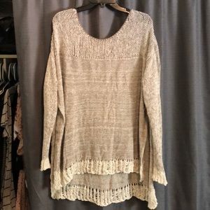 Free People Oversized Sweater - M